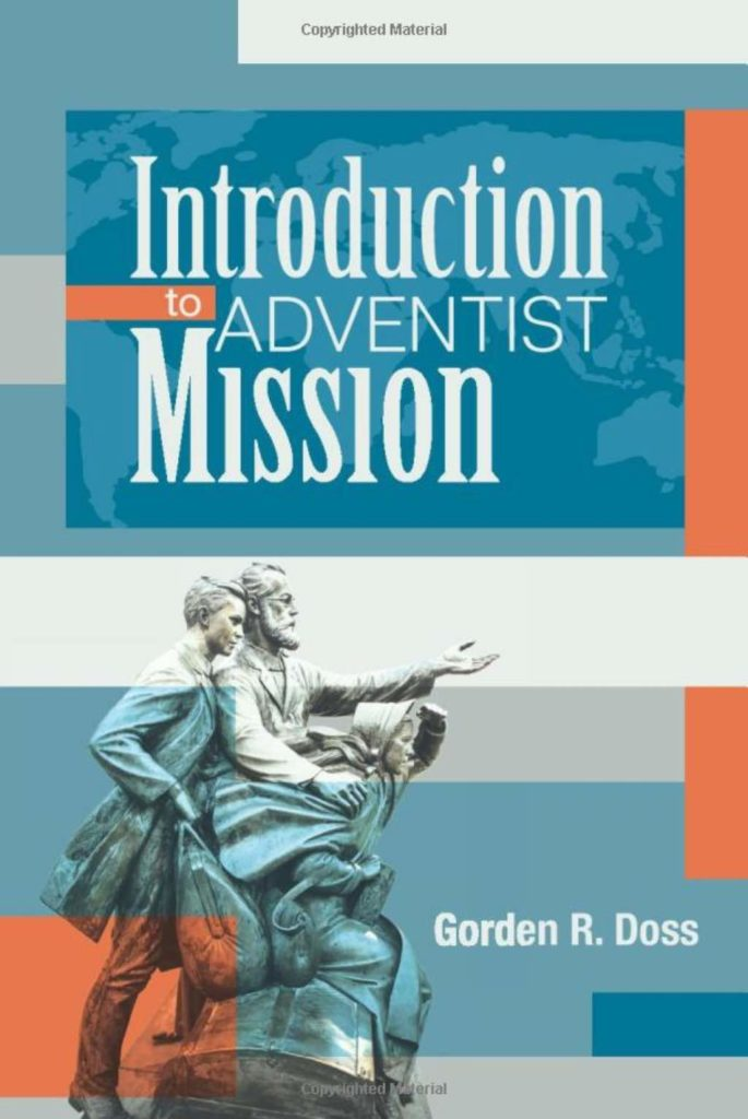 Book Cover Introduction to Adventist Mission by Gorden Doss
